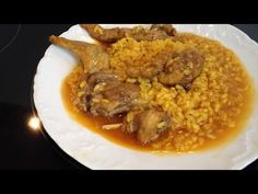 (12) Arroz caldoso con conejo - YouTube