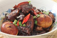 GoodyFoodies: I cooked: Braised Pork Belly with Soy Sauce (Loh Chu Yuk)