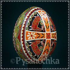 Ukrainian symbolism of fertility of our creativity, our love and our ability to rebirth ouself, the ultimate pysanky Chicken Egg