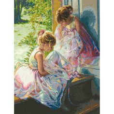 """Dimensions Gold Collection Ballerina Dreams Counted Cross Stitch Kit-11""""X14"""" 18 Count"""