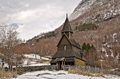 Urnes Stave Church in Luster, Norway beside the Sognefjord, is the only stave church in the world to be included on UNESCO's World Heritage List.by Europe Trotter on 500px