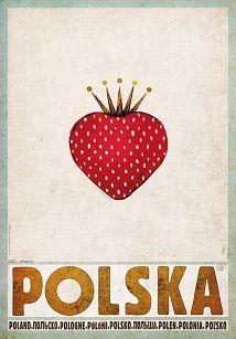 Ryszard Kaja - Polska Truskawka, plakat promocyjny, Ryszard Kaja
