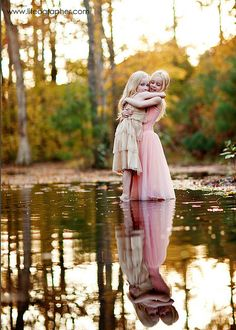 I will get a pic of my girls like this someday!
