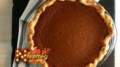 One super ingredient that will set your pumpkin pie a part from the others is nutmeg! Freshly grated nutmeg provides a robust, sharp flavor. It's the perfect spice to add on a pumpkin pie.