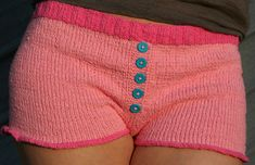 "oolala fancy pants! Can't wait to knit these ""Fixation Boy Shorts"" by Amanda Lilley"