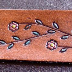 Leather Bracelet by DavidsLederLaden on Etsy