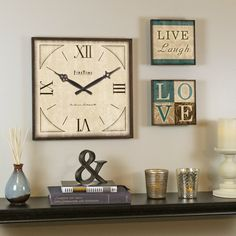 FirsTime Love Gallery Wall Clock & Reviews | Wayfair