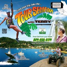 New signage wanted for Tour Samana With Terry by fullgabojcv