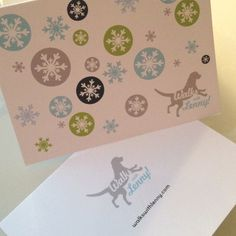 Holiday card for a client! #design #card