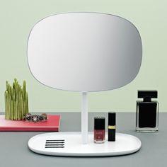Normann Copenhagen Flip mirror, blush | Mirrors | Decoration | Finnish Design Shop
