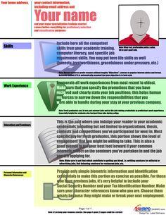 Infographics: Optimizing your Resume | JuanSerbisyo