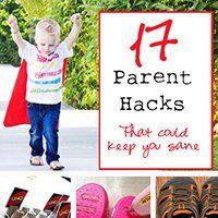 17 Parent Organizational Hacks - That could keep you sane!