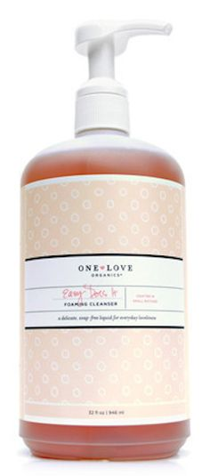 Organic foaming all in one cleanser