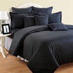 Beauteous Black Fitted Bed Sheet, Sonata Classic Jazz-Beauteous- Black
