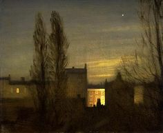 Sir George Clausen, In the Small Hours, 1911