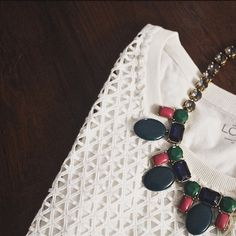 Ann Taylor Loft Geometric Cutout Top Sleeveless perforated white/cream top from Ann Taylor Loft is brand new and with tags. It is so cute, but sadly too large for me now. NO TRADES. Please submit offers through the make and offer option. LOFT Tops