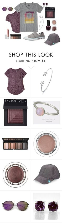 """""""summer6"""" by kelley-tyler on Polyvore featuring Hollister Co., WALL, NARS Cosmetics, e.l.f., Original Penguin, ZeroUV and Clinique"""
