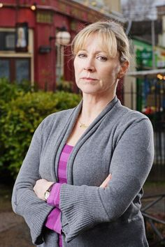 Carol Branning Jackson played by Lindsey Coulson. Who's the boss then!?