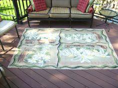 Floorcloth Cheryl Challah Designs