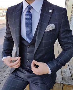 Best formal suits men classy look Best formal suits for men in business Top formal suits men prom Suits Outfits, Blazer Outfits Men, Men's Suits, Cool Suits, Mens Suits 2018, Stylish Outfits, Best Suits For Men, Formal Suits For Men, Classy Suits