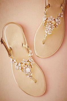 9959e16d81dfb8 BHLDN Luz Sandals in Bride Bridal Shoes at BHLDN Bridal Sandals