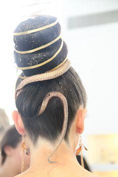 Coulisses du concours Pigier L'Oréal 2013 sur les comédies musicales #hairstyle