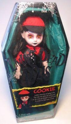 Amazon.com: Mezco LDD Living Dead Dolls - Cookie (dead girlscout): Toys & Games