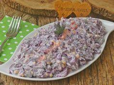 Spoon Salad Recipe, How to Make? Salad Recipes, Snack Recipes, Turkish Recipes, Ethnic Recipes, Natural Fertility, Yogurt, Fiber Diet, Cabbage Salad, Food Categories