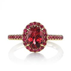 Omi Prive: Red Spinel Ring