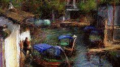 #picture #イラスト #YouTube #nodasanta 新作の絵で僕の好きな水郷をお絵描きしました。 この絵はモーション加工してありますので動いて見れます。 ジェイソン・チェンのファンへこの動画は期間限定で見れなくなります。 心動心痛 - Jason Chen x Alisa Galper  https://youtu.be/ugnHo9McKqg