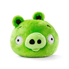Angry Birds - Green Pig Plush Toy - Plush Toys - Toys