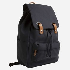 http://chicerman.com  wantering-bags:  The Twill Backpack - Navy  #menshoes