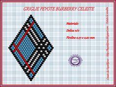 Grids Peyote Rombi Burberry Purple