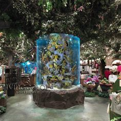 Rainforest Cafe in the Mall of America Rainforest Cafe, Mall Of America, Aquarium Design, Tanked Aquariums, Paris Restaurants, Downtown Disney, All I Ever Wanted, Disney Springs, Aquarium Fish