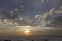 Sunrise Uvongo SA Ocean Photography, Landscape Art, Sunrise, Africa, Clouds, Sky, Outdoor, Heaven, Outdoors