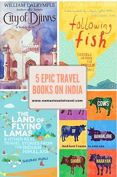 Travel Books on India: Top 5 Must-Reads - Namaste, Solo Travel! Best Travel Books, Literary Travel, Best Books To Read, Ya Books, India Travel Guide, Asia Travel, Solo Travel, Single Travel, What To Read
