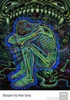 Despair by alex grey