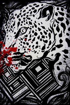 'Wildcat' Print by Reyes