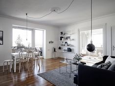 Cosy apartment in Gothenburg | www.my-full-house.com