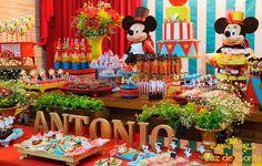 mesa decoração antonio circo