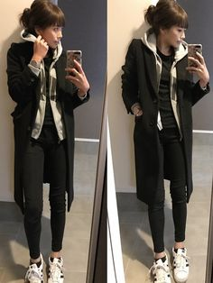 nikeybens on in 2020 Fashion Pants, Fashion Outfits, Womens Fashion, Fashion Tips, Fashion Trends, Basic Outfits, Kpop Outfits, Japan Fashion, Grunge Fashion