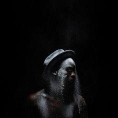 From Kunstraum Innsbruck, Mohau Modisakeng, Untitled (Metamorphosis Inkjet print on Epson UltraSmooth, 120 × 120 cm South African Artists, Black Artists, Portrait Photography, Contemporary Art, Illustration Art, Artsy, Fine Art, Artwork, Innsbruck