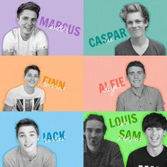 My youtubers :) and Dan and Phil and Jim and joe and Tanya and Louise and Zoe