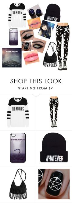 """Imagine Dragons Concert"" by thenameisjustice ❤ liked on Polyvore featuring Zoe Karssen, Tripp, Laura Mercier, concert and makeup"