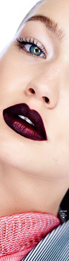 Gigi Hadid Elle November 2016 | LOLO❤︎