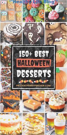 150 beste Halloween Desserts #halloweenfingerfoodeasy #HalloweenFingerfood