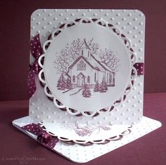 CCC12 February - Country Church by ceedee - Cards and Paper Crafts at Splitcoaststampers