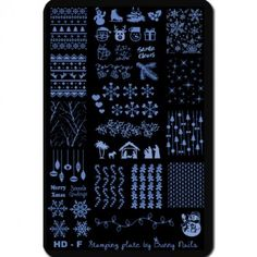 119 Best Nail Stamp Plates Images On Pinterest