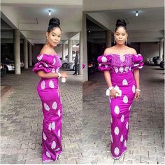 Look Chic in These Gorgeous Aso Ebi Gowns African Attire, African Wear, African Fashion Dresses, African Women, Ankara Fashion, Fashion Vest, African Clothes, Mens Fashion, Ankara Styles For Women
