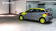 Hyundai i20 - styling 05 wrapstyle car wrap foil   by WrapStyle